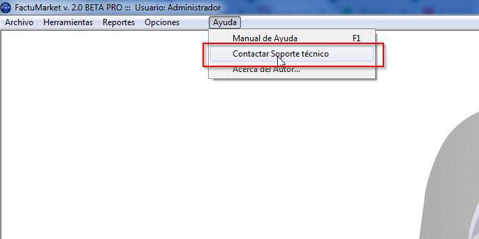 pedir soporte técnico sistema facturacion ecuador